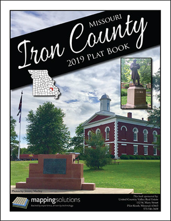 Iron County Missouri 2019 Plat Book