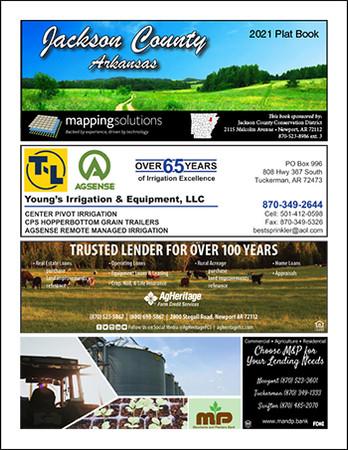 Jackson County Arkansas 2021 Plat Book