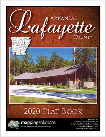 Lafayette County Arkansas 2020 Plat Book