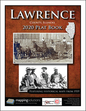 Lawrence County Illinois 2020 Plat Book