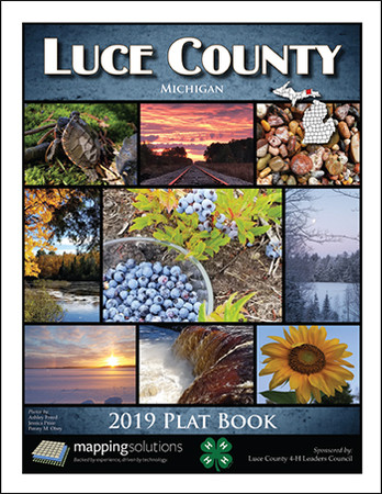 Luce County Michigan 2019 Plat Book