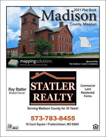 Madison County Missouri 2021 Plat Book