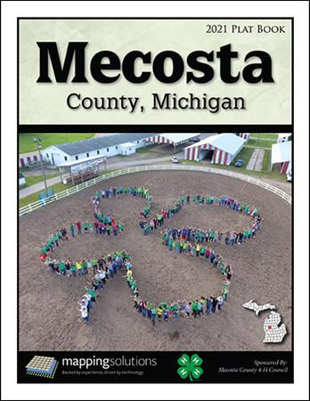 Mecosta County Michigan 2021 Plat Book