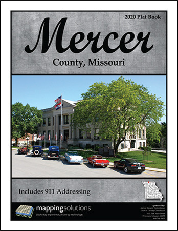 Mercer County Missouri 2020 Plat Book