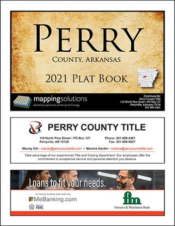 Perry County Arkansas 2021 Plat Book
