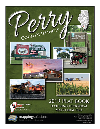 Perry County Illinois 2019 Plat Book