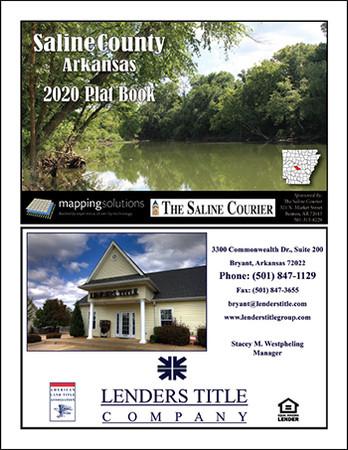 Saline County Arkansas 2020 Plat Book