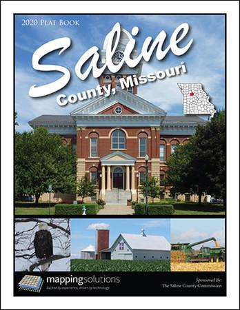 Saline County Missouri 2020 Plat Book