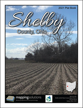 Shelby County Ohio 2021 Plat Book