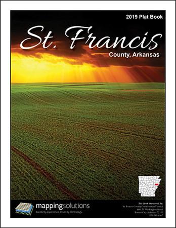 St.Francis County Arkansas 2019 Plat Book
