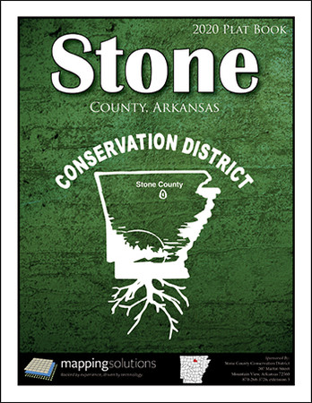 Stone County Arkansas 2020 Plat Book