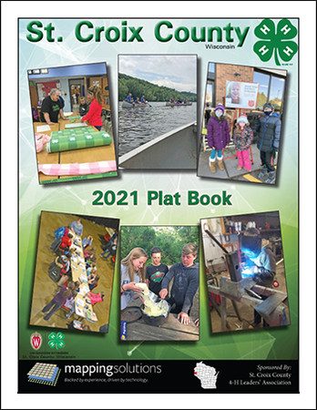 St.Croix County Wisconsin 2021 Plat Book