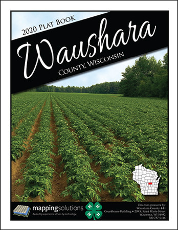 Waushara County Wisconsin 2020 Plat Book