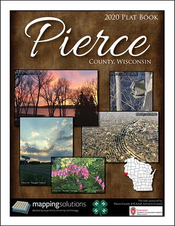 Pierce County Wisconsin 2020 Plat Book