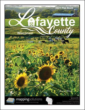 Lafayette County Wisconsin 2021 Plat Book