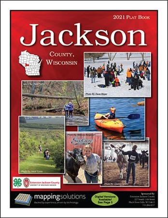 Jackson County Wisconsin 2021 Plat Book