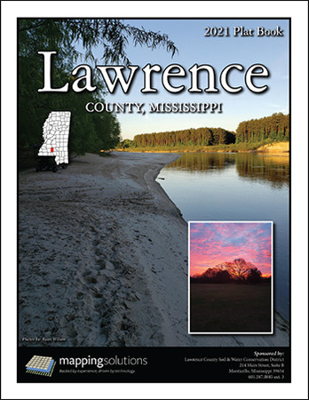 Lawrence County Mississippi 2021 Plat Book