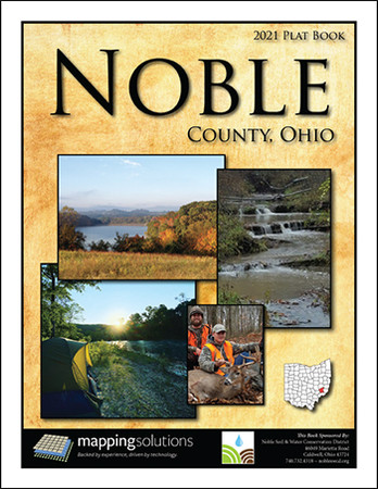 Noble County Ohio 2021 Plat Book
