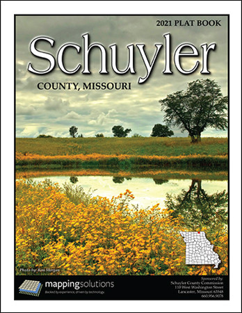 Schuyler County Missouri 2021 Plat Book