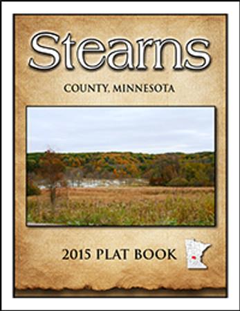 Stearns County Minnesota 2015 Plat Book