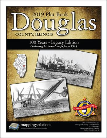Douglas County Illinois 2019 Plat Book