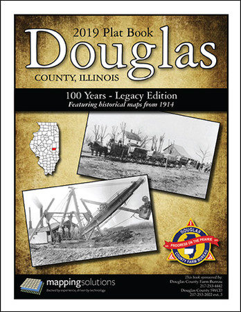 Douglas County Illinois 2019 Plat Book