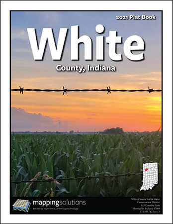 White County Indiana 2021 Plat Book
