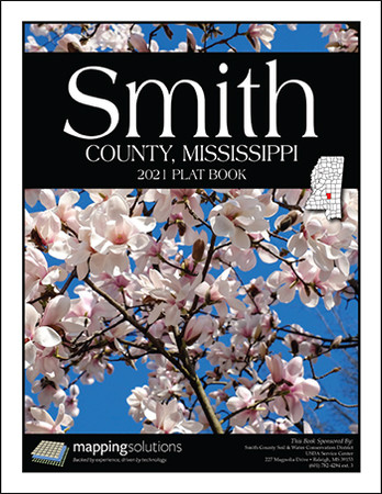 Smith County Mississippi 2021 Plat Book