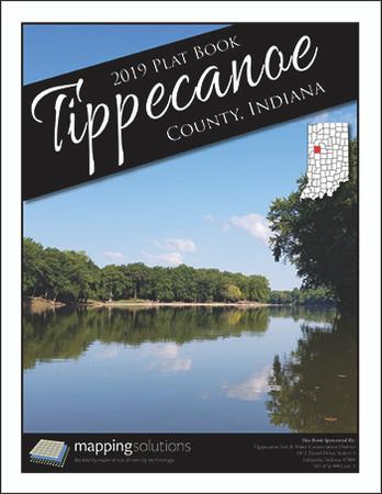 Tippecanoe County Indiana 2019 Plat Book