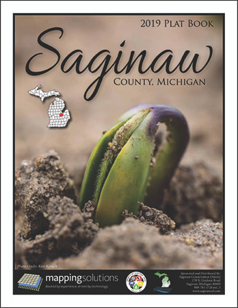 Saginaw County Michigan 2019 Plat Book