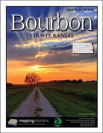 Bourbon County Kansas 2021 Plat Book