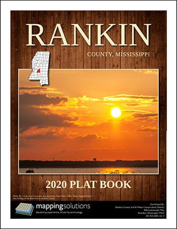 Rankin County Mississippi 2020 Plat Book