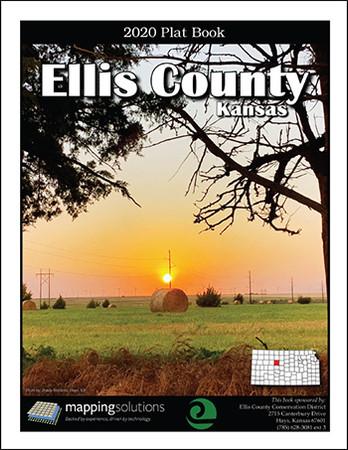Ellis County Kansas 2020 Plat Book