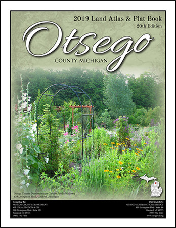 Otsego County Michigan 2019 Plat Book