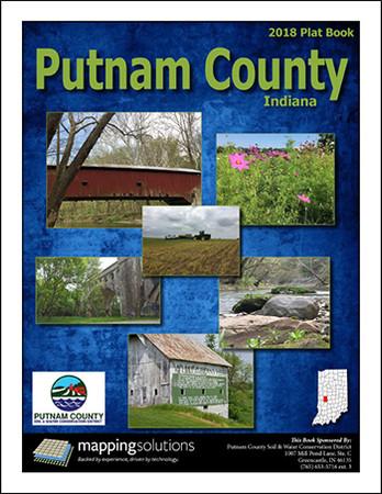 Putnam County Indiana 2018 Plat Book