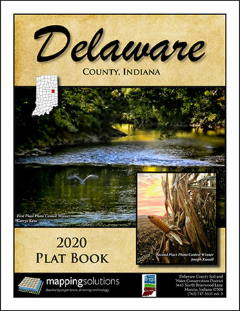 Delaware County Indiana 2020 Plat Book