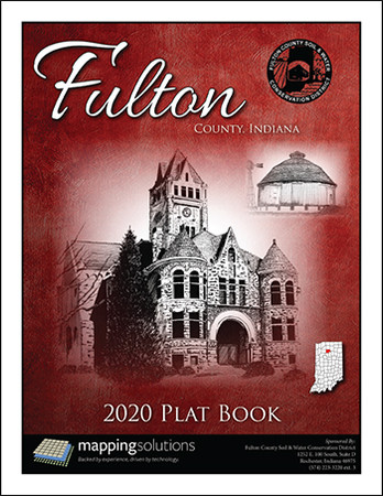 Fulton County Indiana 2020 Plat Book
