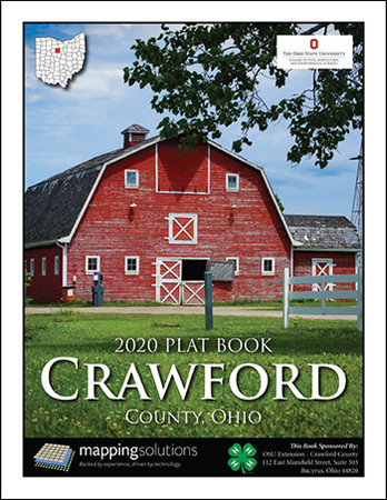 Crawford County Ohio 2020 Plat Book