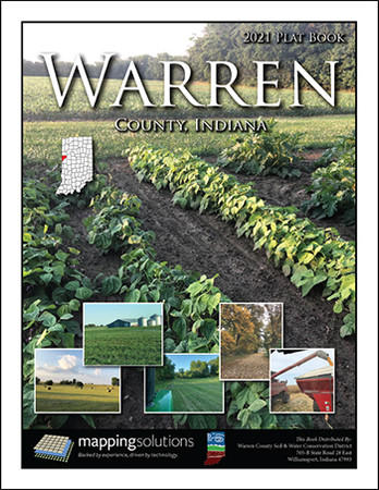 Warren County Indiana 2021 Plat Book