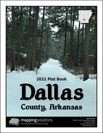 Dallas County Arkansas 2021 Plat Book