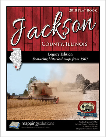 Jackson County Illinois 2018 Plat Book