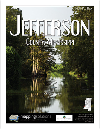 Jefferson County Mississippi 2019 Plat Book