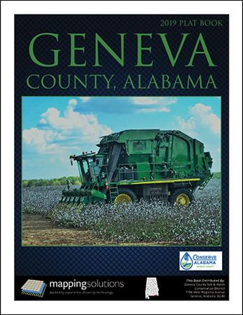 Geneva County Alabama 2019 Plat book