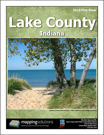 Lake County Indiana 2019 Plat Book