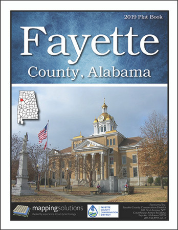 Fayette County Alabama 2019 Plat book