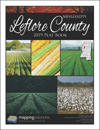 Leflore County Mississippi 2019 Plat Book