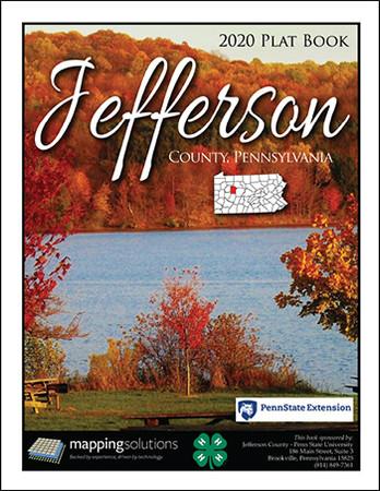 Jefferson County Pennsylvania 2020 Plat Book