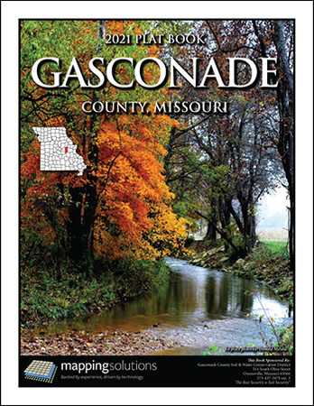Gasconade County Missouri 2021 Plat Book