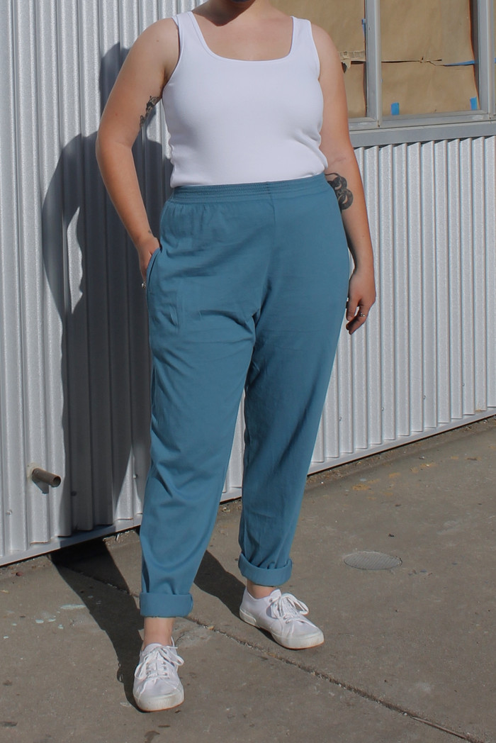 Classic Pants with Pockets