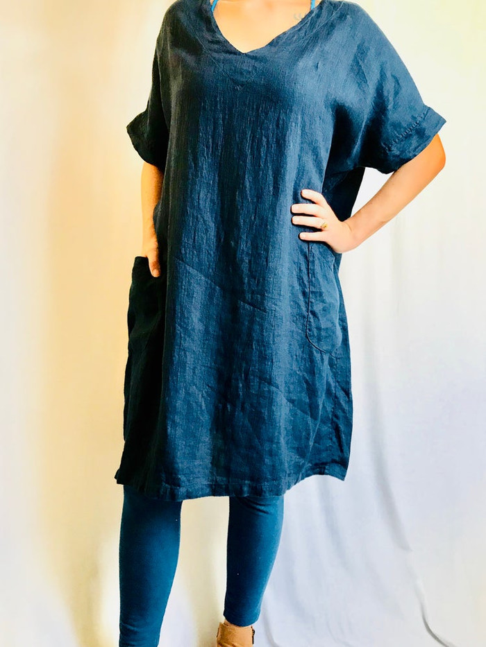 Anita Tunic in Midnight